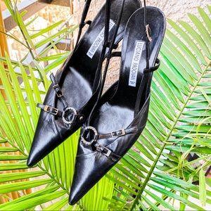 LUCIANO PADOVAN Italian leather heels